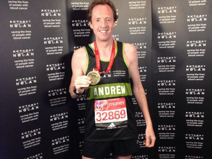 London Marathon 2016 success for Andrew Potter!