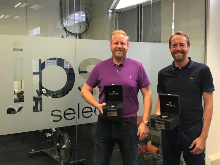 10 Years! Milestone reached for JPS's Andrew Edge and Andrew Potter